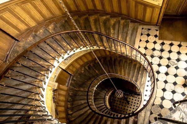 escalier passage vivienne