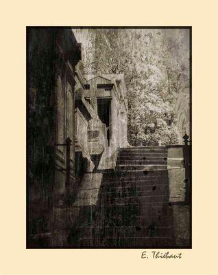 Escaliers au Père Lachaise