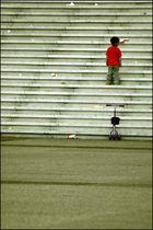 Escaliers de la Défense.