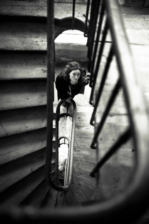 Escaliers en bois à Paris