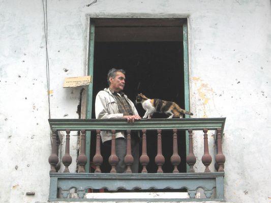 Escena de balcón / Balcony scene