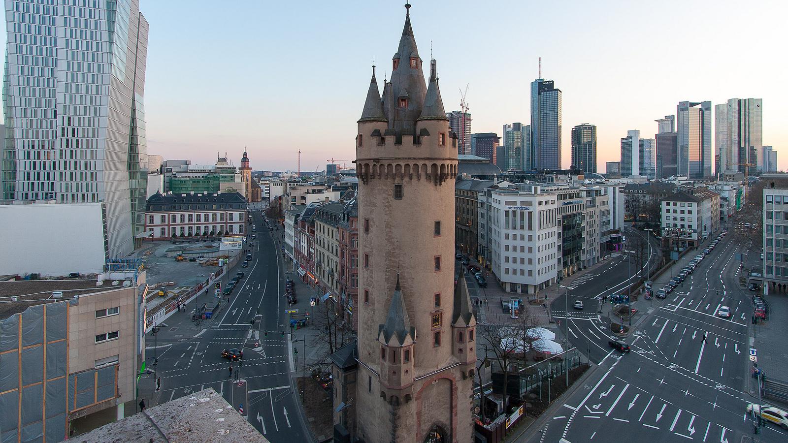 Eschenheimer Turm und Umgebung
