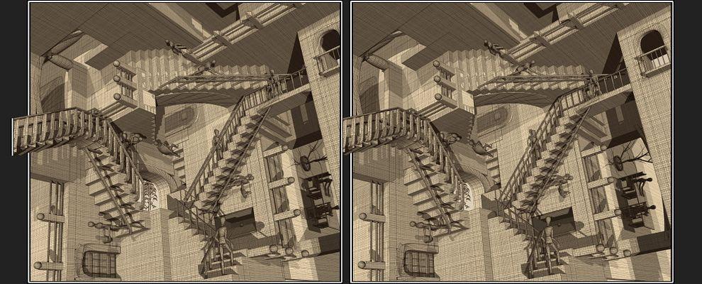 Escher'sRelativität _____________________________________________Escher's Relativität