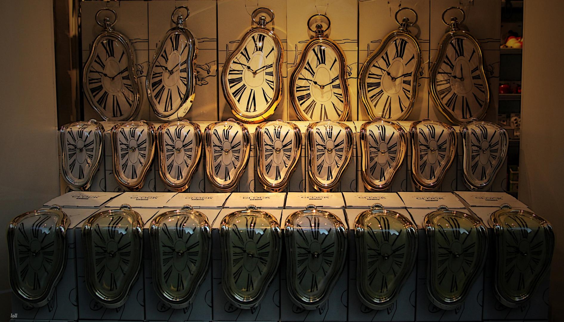 ...esclavos del...tiempo...