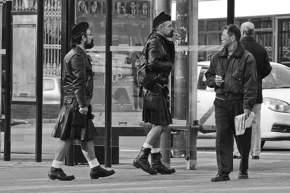 Escoceses en Cueros