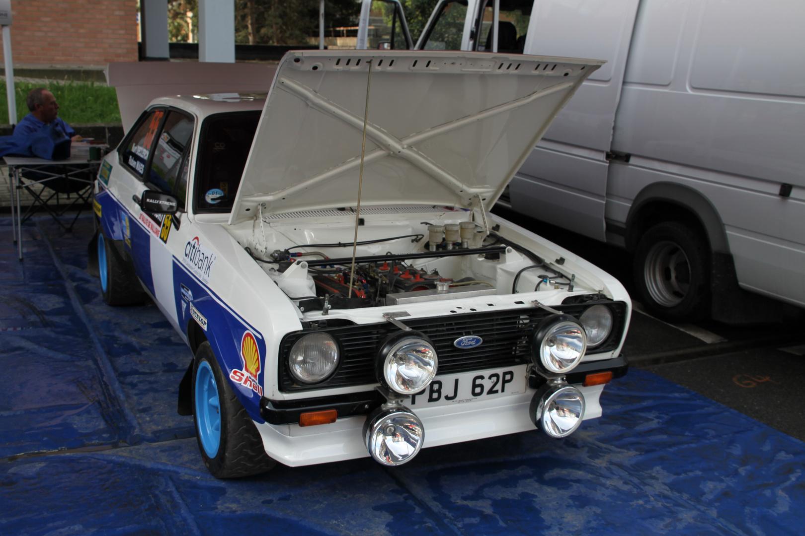 Escort BDA Rallye Wallonie 2011