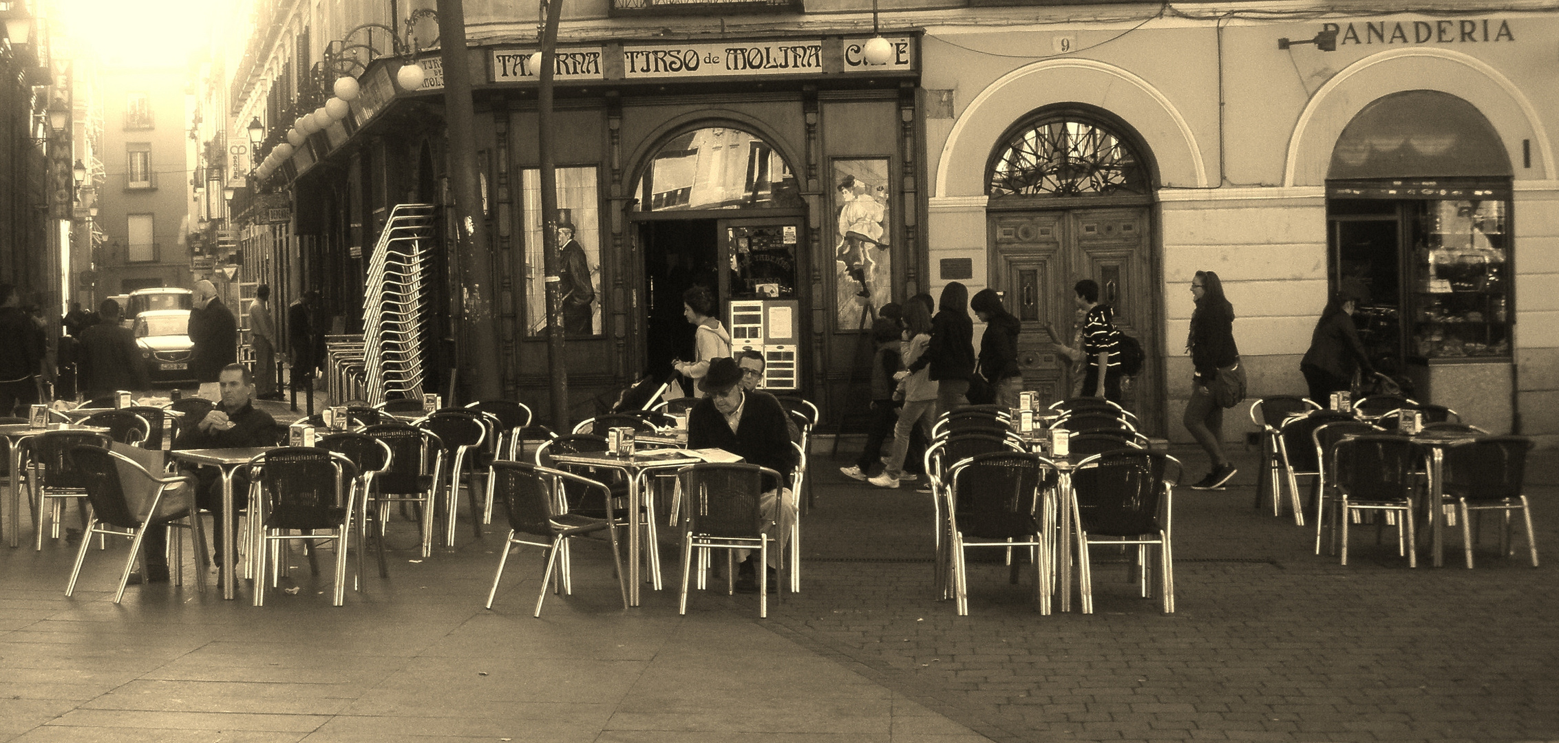 Ese cafe de Madrid