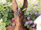 Esel mit Blumen