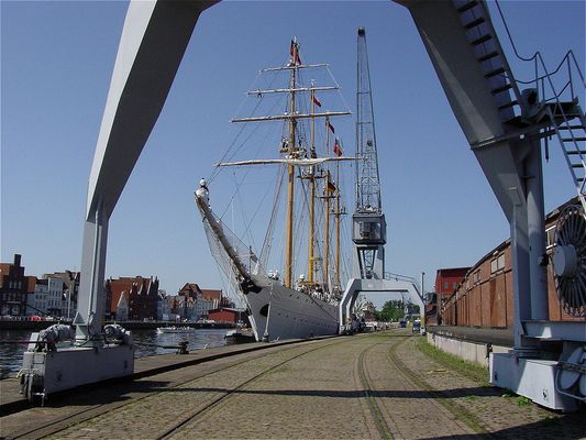 Esmeralda an der Lübecker Wallhalbinsel