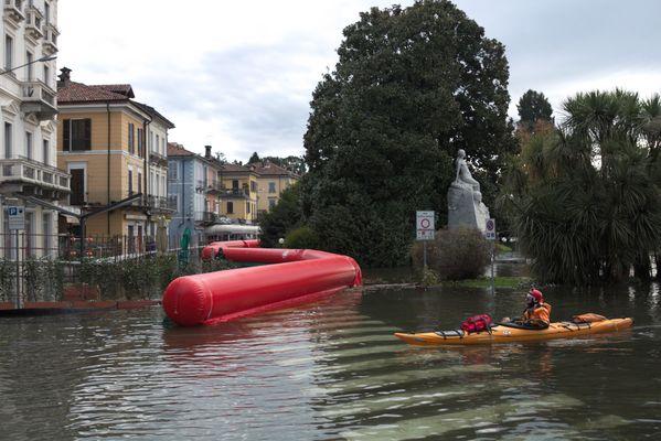 Esondazione lago Maggiore
