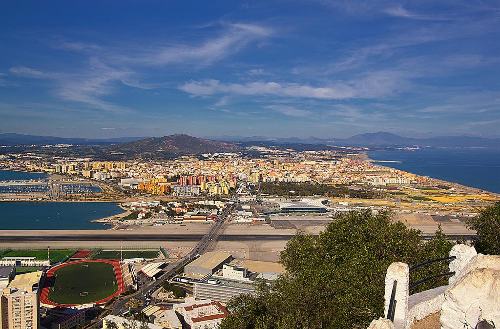 España desde Gibraltar