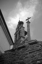 Espadaña de la Iglesia de La Torre de Aliste