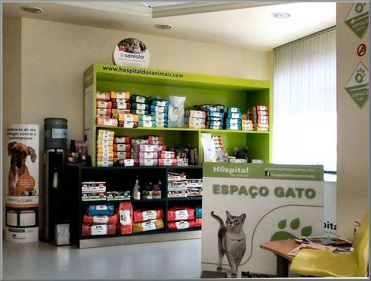 Espaço Gato. Cat Space.