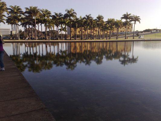 Espelho d´água-Brasília (DF)