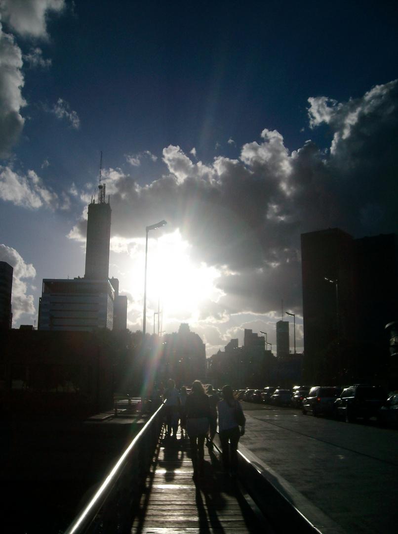 Esperándote con el sol