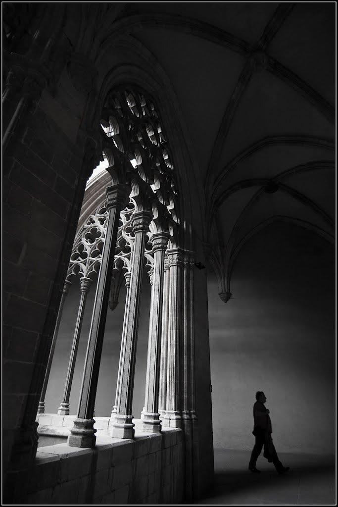 Espíritu en el claustro