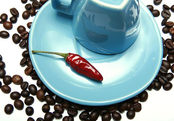 espresso is hot