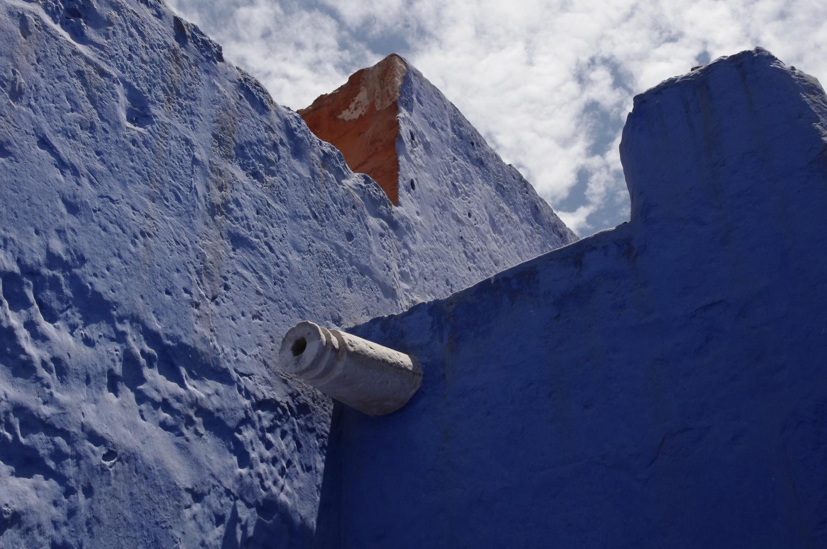 Esquina azul