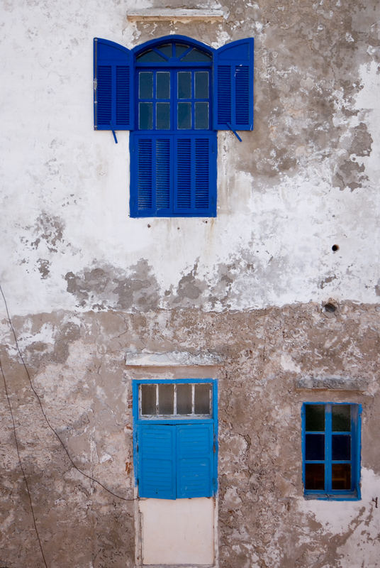 Essaouira, Finestre - Essaouira, Windows