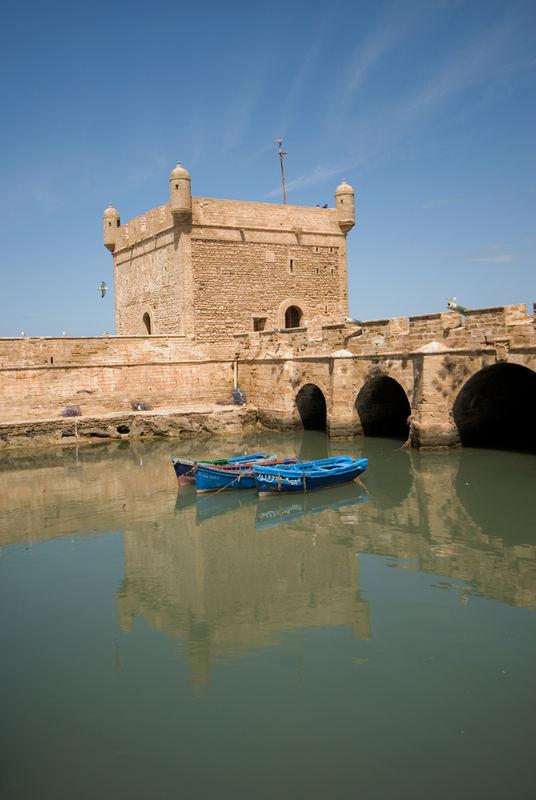 Essaouira, Il torrione del porto - Essaouira, the Harbour Tower