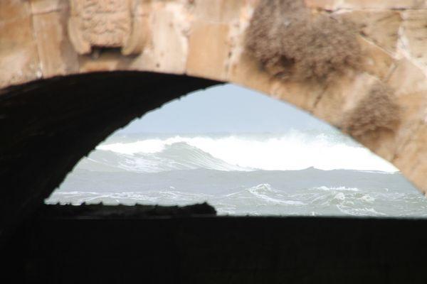 Essaouira's waves