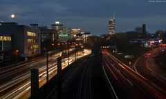 Essen A40 Richtung Bochum - II