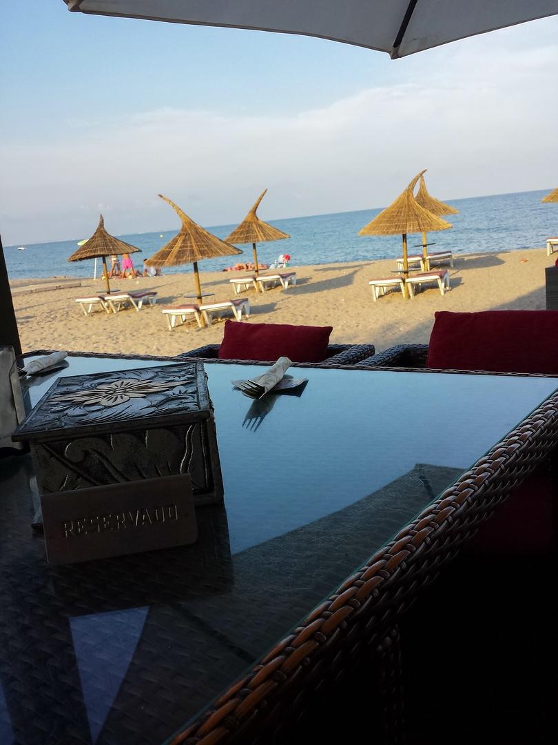 Essen Sand und Meer....