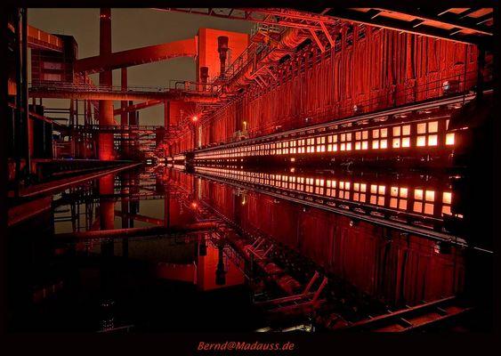 Essen: Zeche Zollverein - Kokerei