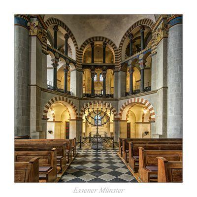 """Essener Münster """" Gott zu Gefallen.."""""""