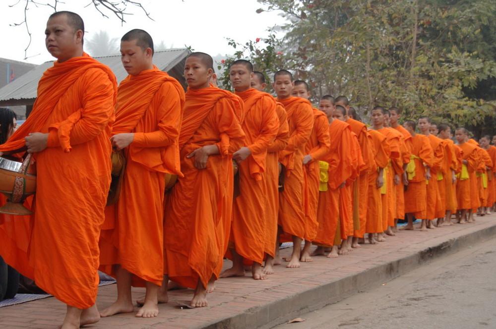 Essenszeit in Luang Prabang, Laos