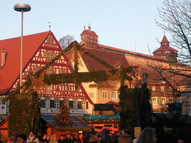 Esslingen Weihnachtsmarkt 1