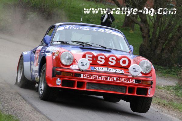 ESSO Porsche bei der Vogelsberg Rallye 2011