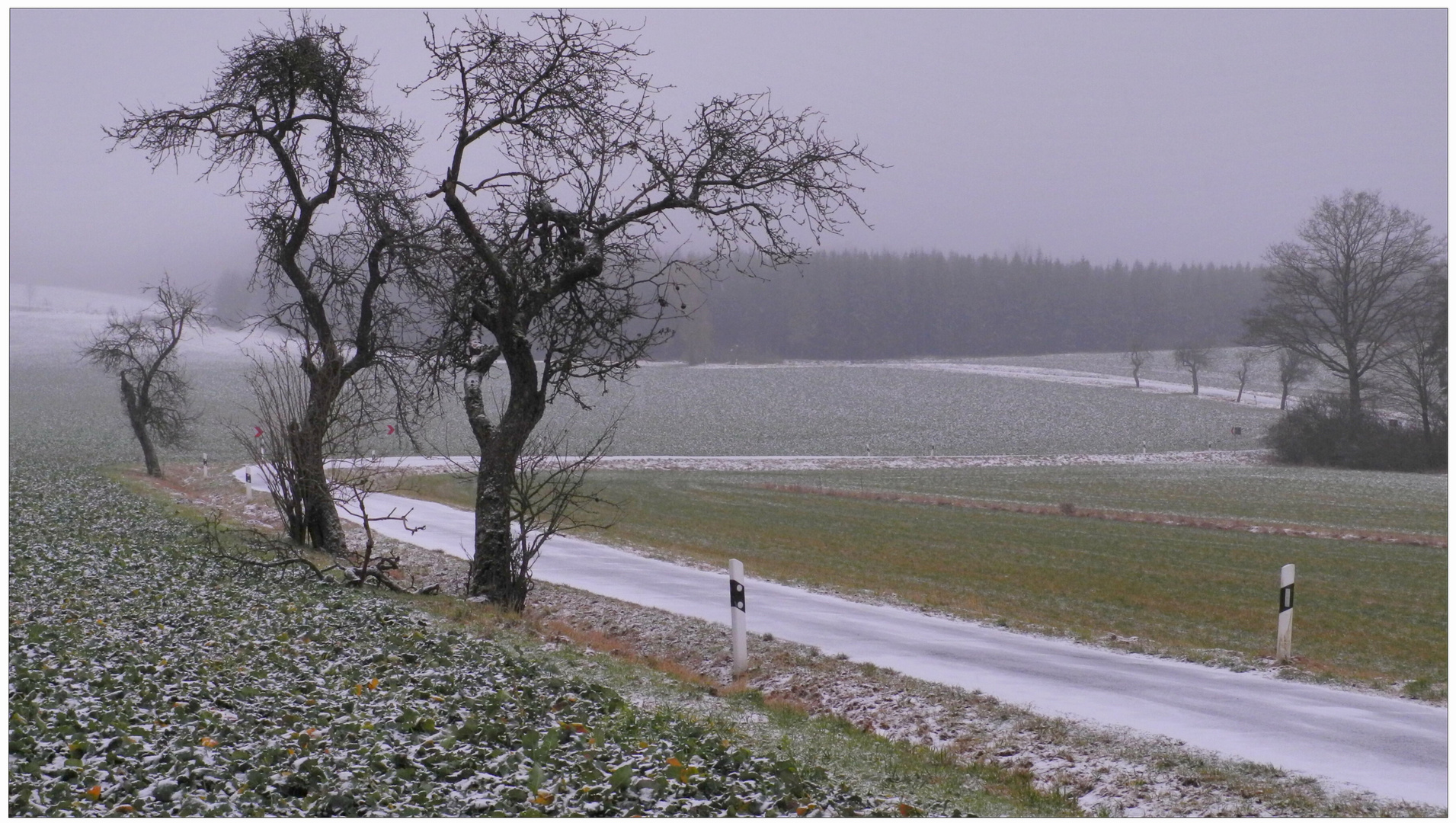 esta mañana estuvo nevando II