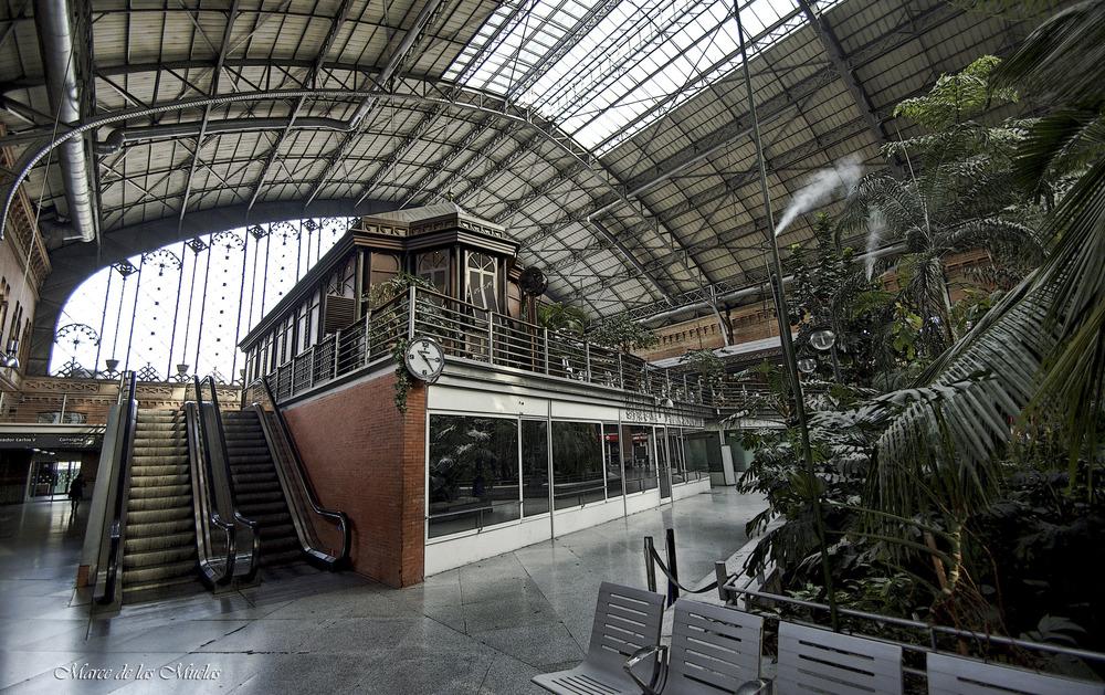 ...Estación de Atocha...