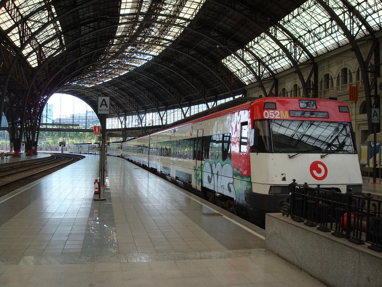 Estación de Francia, Barcelona, España