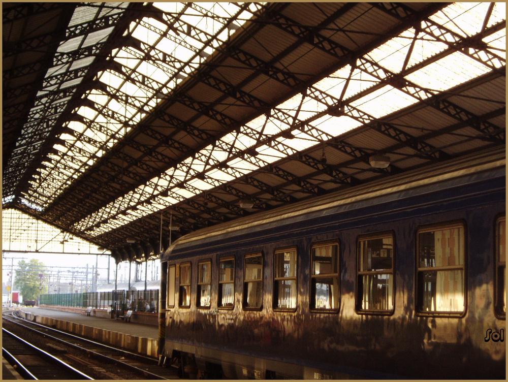 Estacion de Hendaya (Francia)