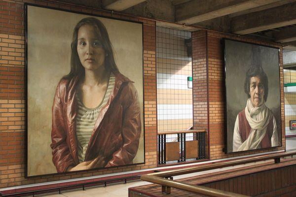 Estacion de Metro Boquedano - Santiago - CH