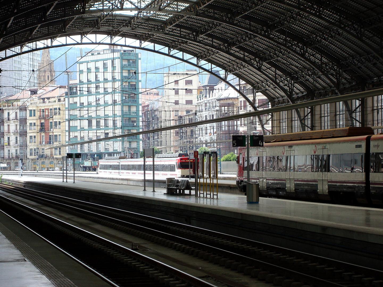 Estación de trenes de Bilbao