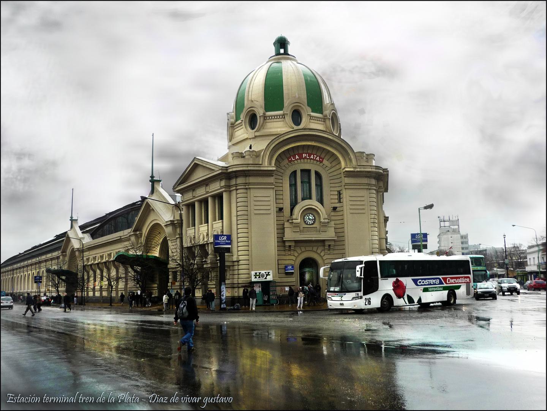 Estación de trenes La plata, Bueno aires