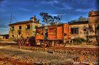 Estación ferrocarril abandonada