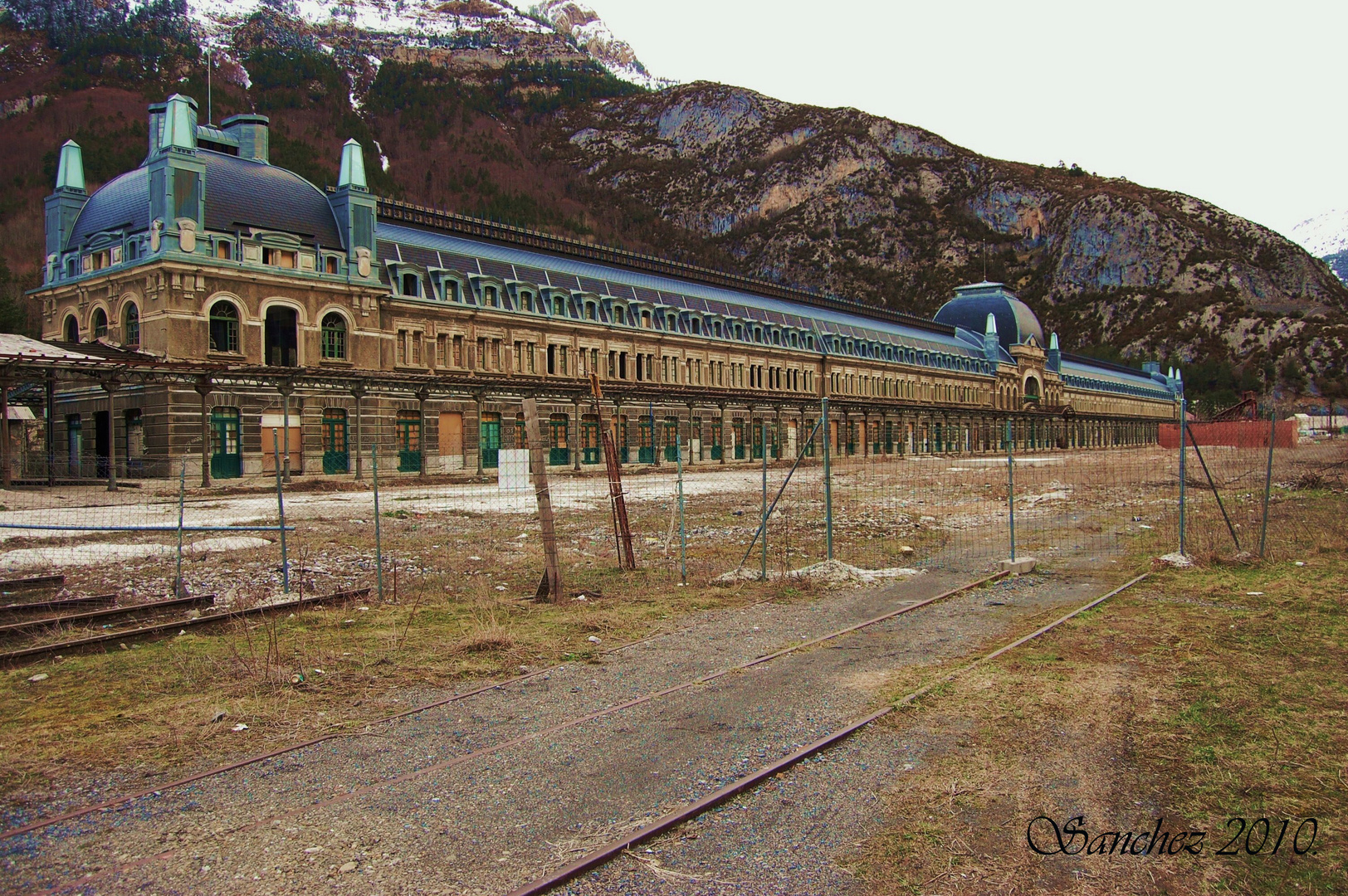 Estacion internacional de Canfranc. (Huesca)
