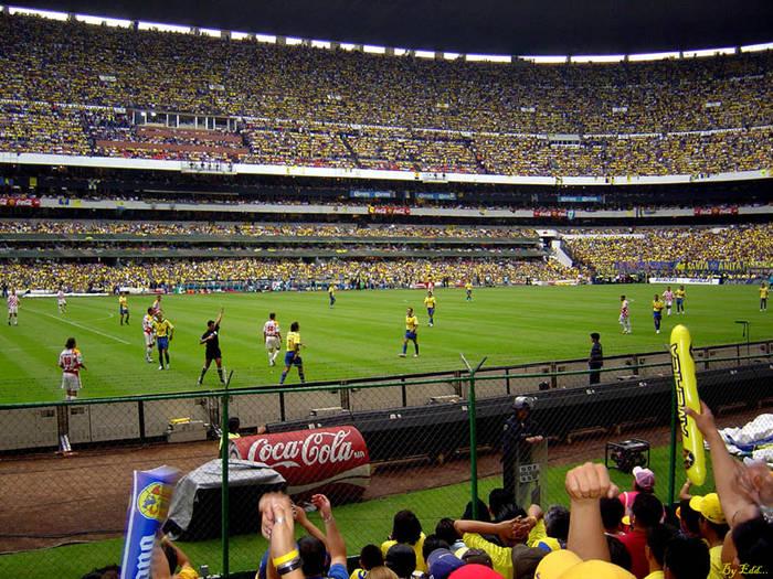 Estadio Azteca, México...