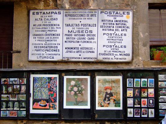 estampas y postales