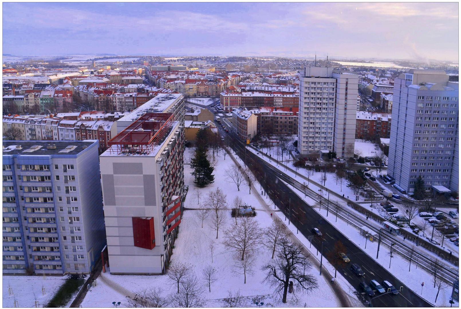 estar de visita en Erfurt, 1 (Besuch in Erfurt, 1)