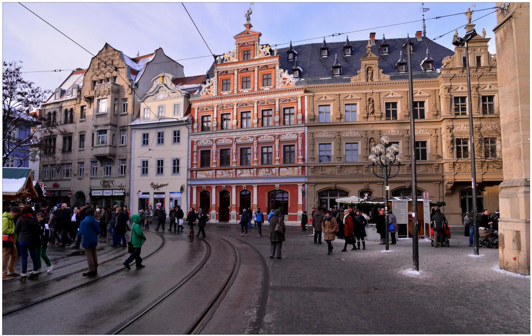 estar de visita en Erfurt, 10 (Besuch in Erfurt, 10)