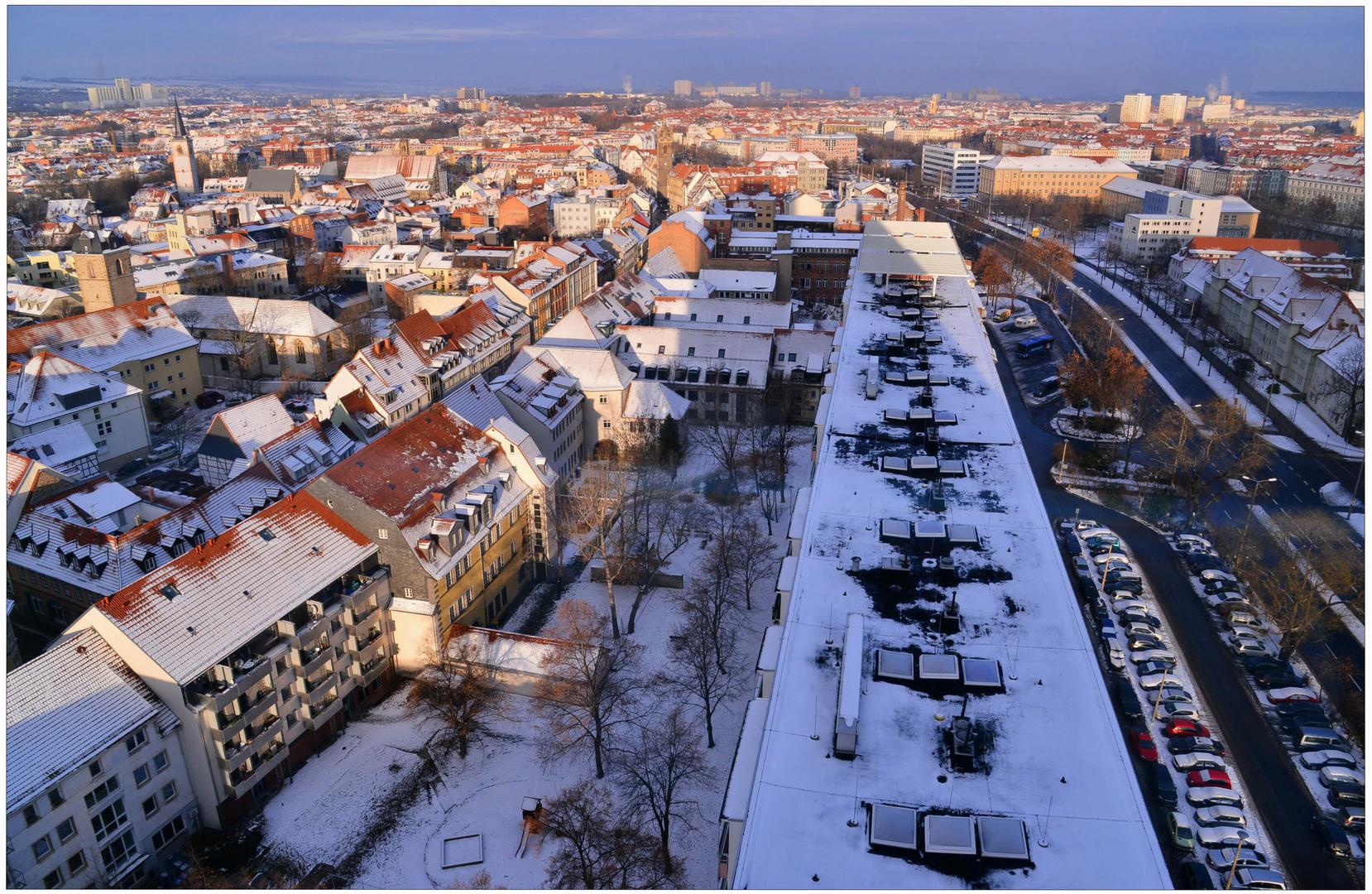 estar de visita en Erfurt, 2 (Besuch in Erfurt, 2)