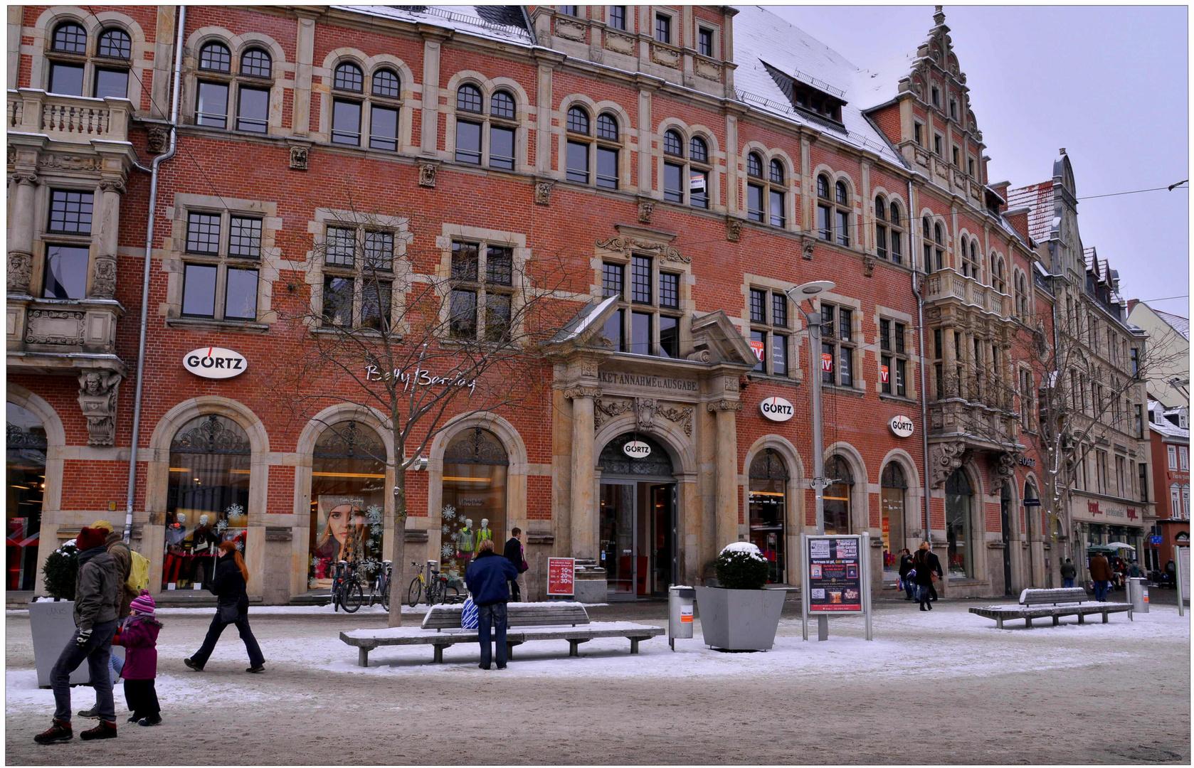 estar de visita en Erfurt, 3 (Besuch in Erfurt, 3)