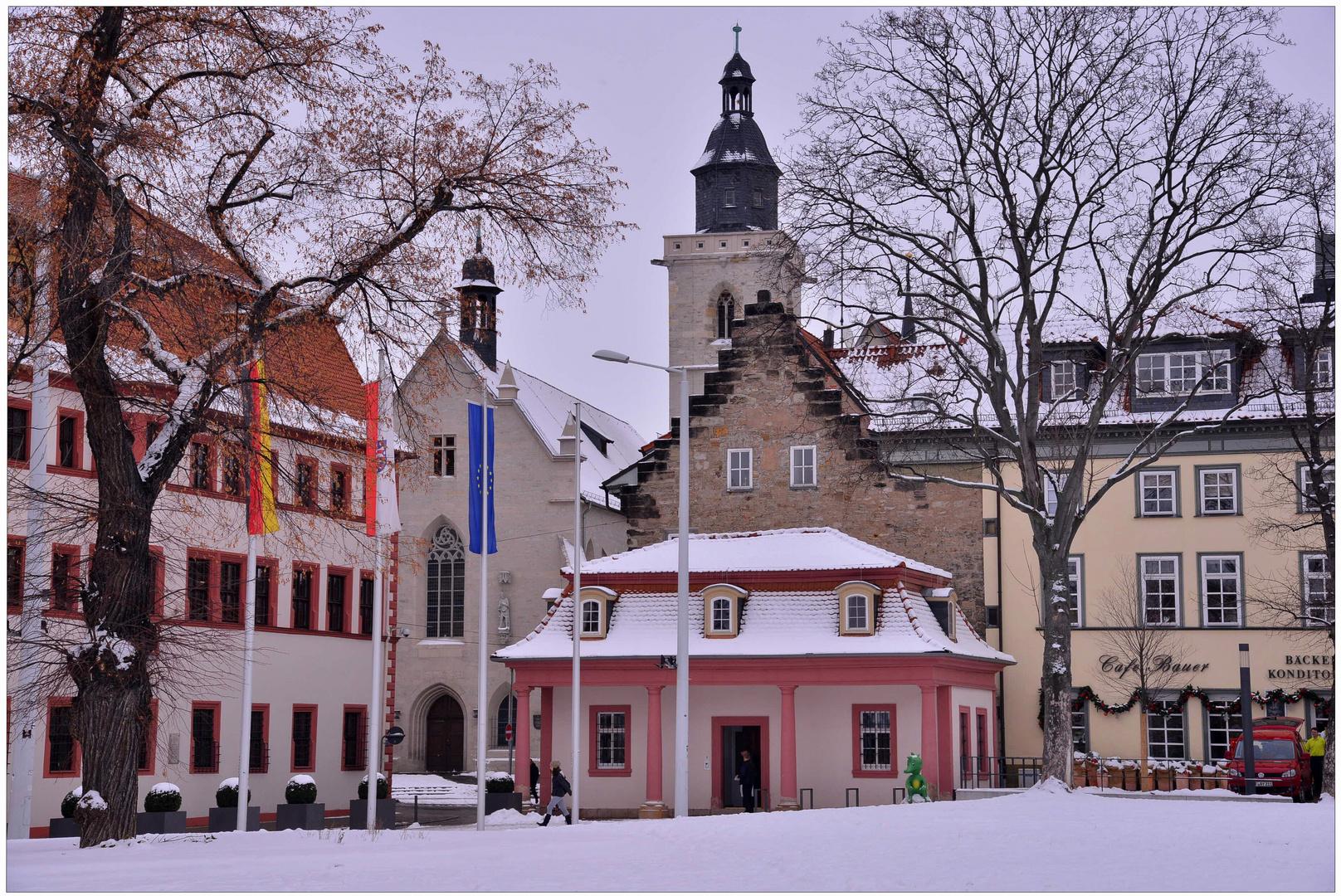 estar de visita en Erfurt, 4 (Besuch in Erfurt, 4)
