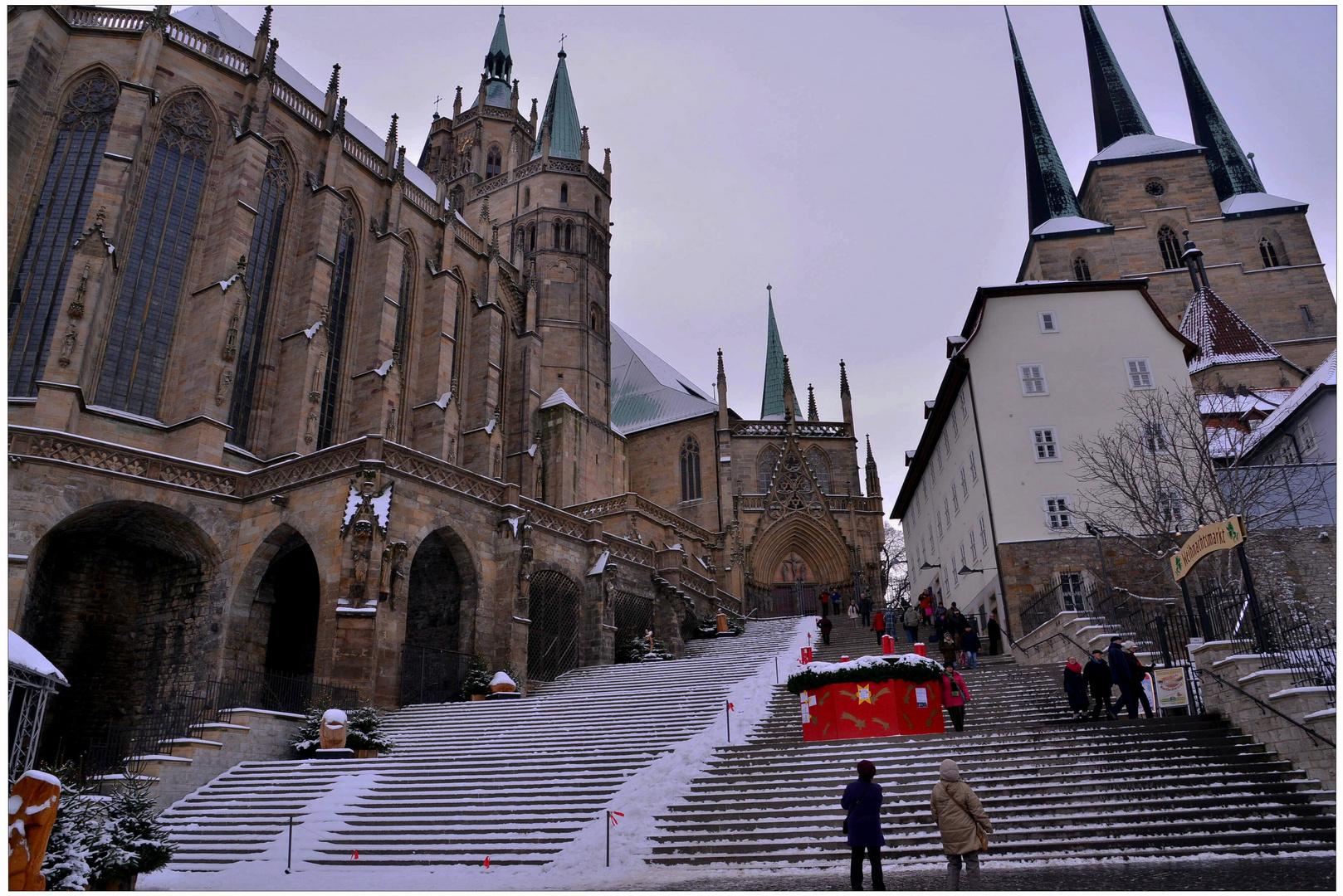 estar de visita en Erfurt, 6 (Besuch in Erfurt, 6)