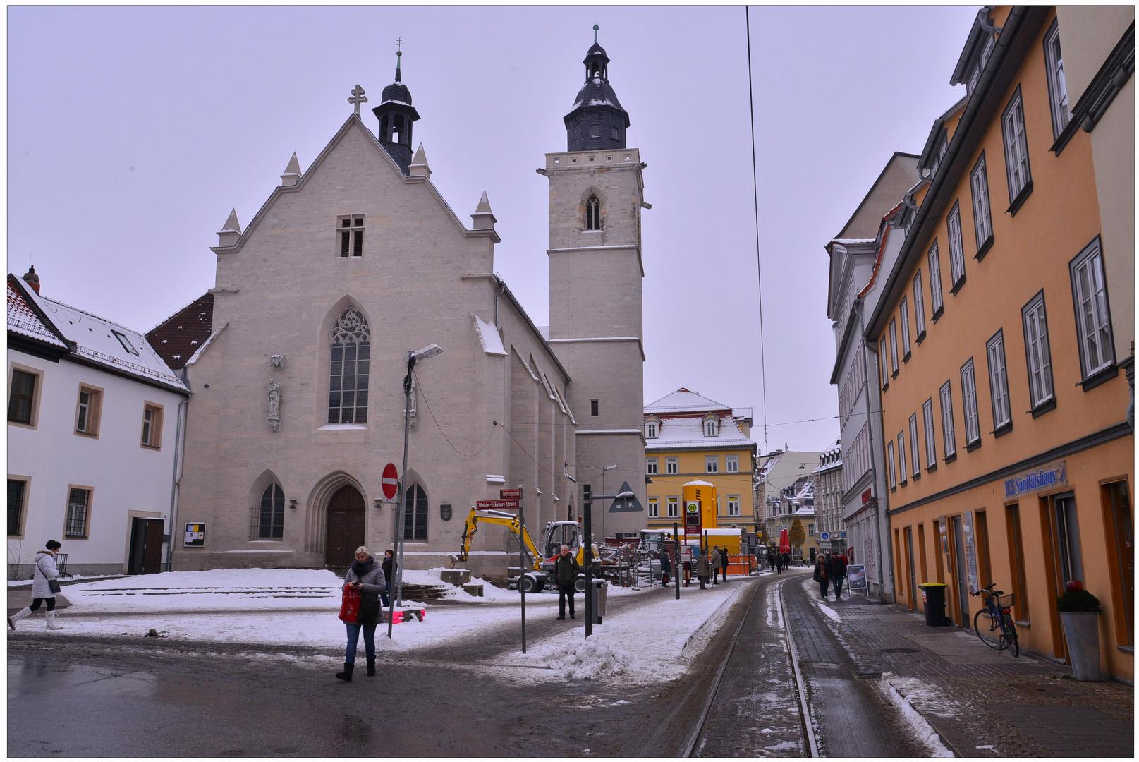 estar de visita en Erfurt, 7 (Besuch in Erfurt, 7)